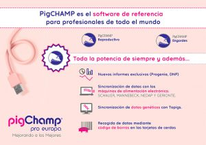 Folleto PigCHAMP software