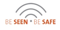 Be Seen Be Safe logo