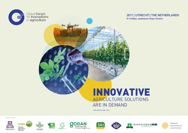 European edition of the Global Forum for Innovations in Agriculture